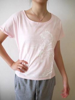 バレエ Tシャツ ドルマンスリーブT 《ラ・ローズ ピンク》