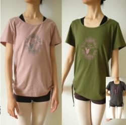 SD-019 バレリーナTシャツ(サイドギャザー)