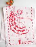 バレエ フェイス タオル 《ロマンチック ピンク》