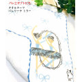 バレエ タオルチーフ(バレリーナ ミラー)ハンカチ Shinzi Katoh 贈り物 ギフト【メール便可】(KI-24)