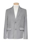 テーラードジャケット/グレー 灰色 S~LL /アパレル 4000-1-gy