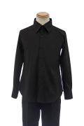 カラーワイシャツ/ブラック 黒 S~LL /アパレル 4000-11-bk