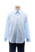 カラーワイシャツ/ブルー 青 S~LL /アパレル 4000-11-bl