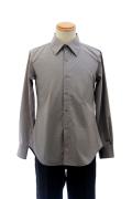 カラーワイシャツ/グレー 灰色 S~LL /アパレル 4000-11-gy