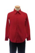 カラーワイシャツ/レッド 赤 S~LL /アパレル 4000-11-rd