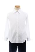 カラーワイシャツ/ホワイト 白 S~LL /アパレル 4000-11-wh
