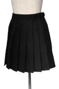 プリーツスカート/ブラック 黒 S〜LL /アパレル 4000-4-bk