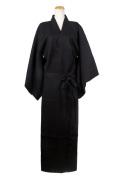 着物(帯付き)/ブラック 黒 フリーサイズ/アパレル 4000-5-bk