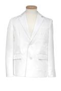 テーラードジャケット/ホワイト 白 S~LL /アパレル 4000-1-wh