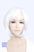 【セール価格】【ピュアホワイト】ショートボブ bo-1001