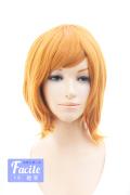 【オレンジブラウン】ショートボブ bo-144b