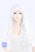 【ピュアホワイト】ロングカール cu-1001