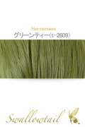 【グリーンティー】毛束 ex-t2609