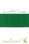 【エンパイアグリーン】毛束 ex-t2615