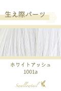 【ホワイトアッシュ】生え際パーツ 手植えレース生地毛束 fl-1001a