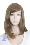 【ラテブラウン】ミディアム【138色】 【コスプレウィッグ】【高品質コスプレ★フルウィッグ/wig】