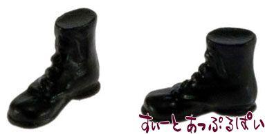 黒いブーツ IM65534