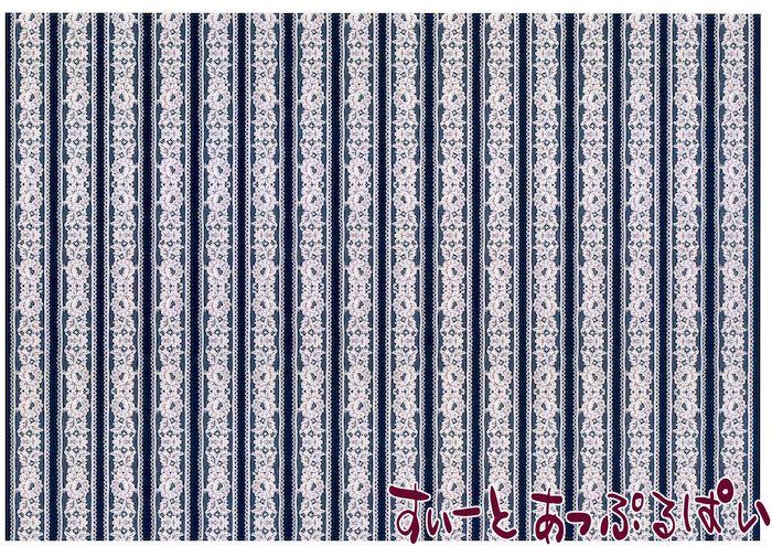【1/12サイズ】【スペイン製】 ドールハウス用壁紙 432 x 260ミリ WM35590