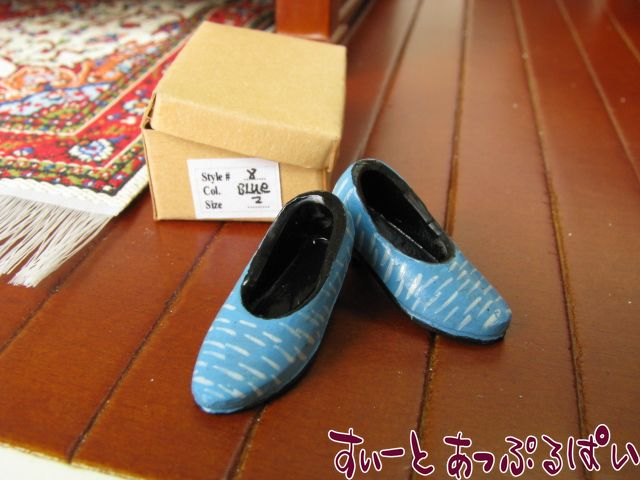 【Heidi Ott】 婦人用シューズ ブルー HO-XZ751-BL