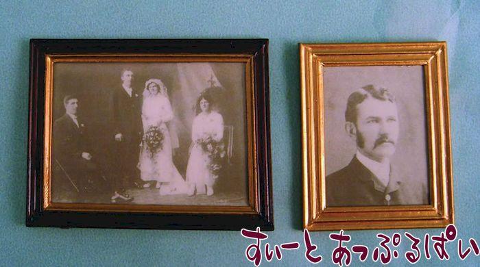 額入り写真2枚セット とある家族の肖像 SAD1181