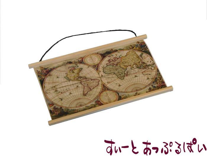 世界地図のタペストリー  SAD2408