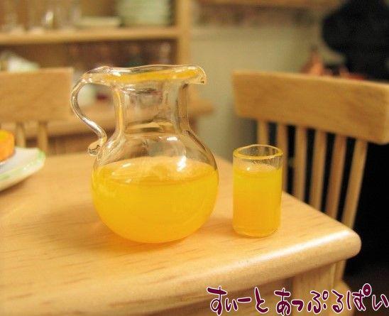 ピッチャー入りオレンジジュース グラス1つ付き ID2032