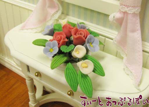 薔薇のテーブルアレンジ IDF003