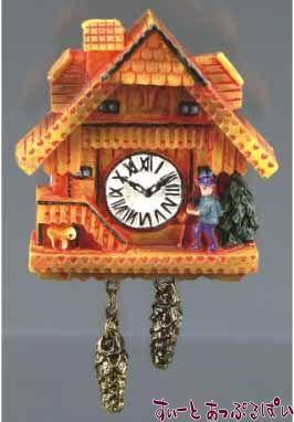 【ロイターポーセリン】 はと時計 ハニーカラー RP1401-5