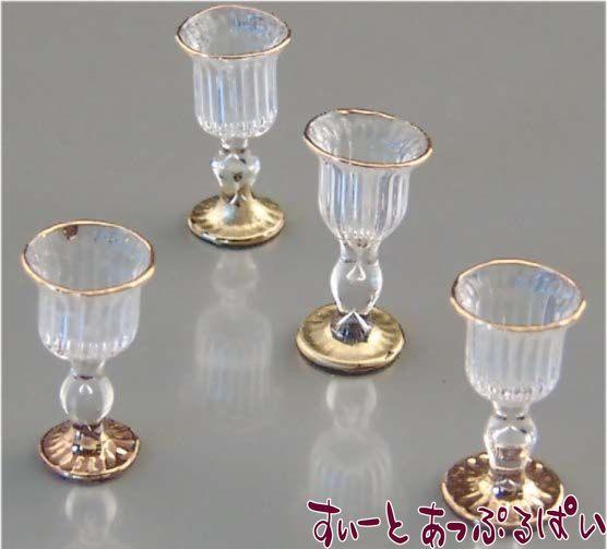 【ロイターポーセリン】 ビクトリアン ワイングラスセット RP1463-5