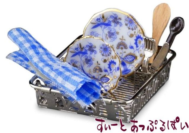 【ロイターポーセリン】 ディッシュラック ブルーオニオン RP1841-5