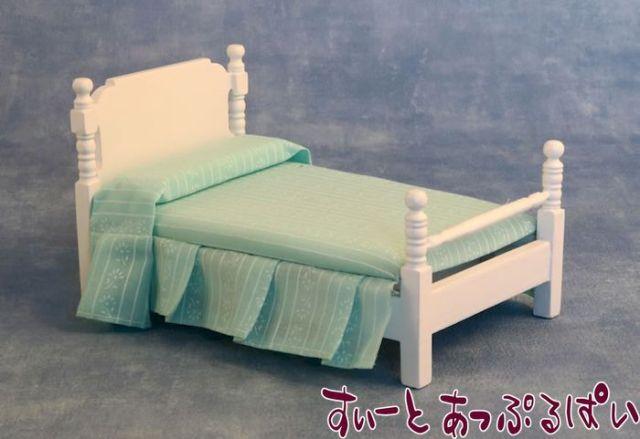 ビクトリアン シングルベッド ホワイト SA9307
