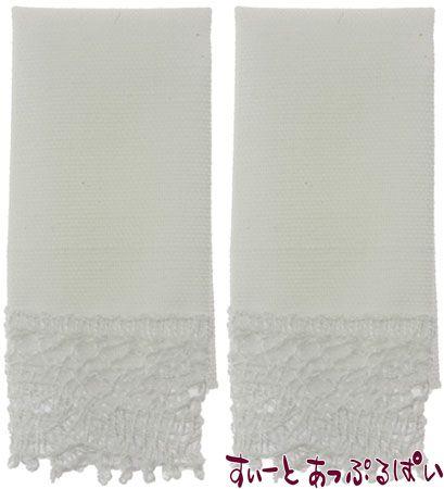 【米国製】【バーバラさんのタオル】 キッチンタオル 2枚セット ホワイト BB50612