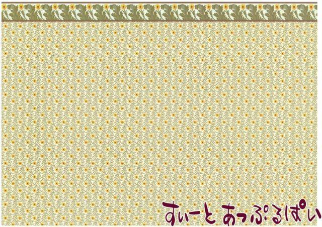 【1/12サイズ】 ドールハウス用壁紙  BP1AC102