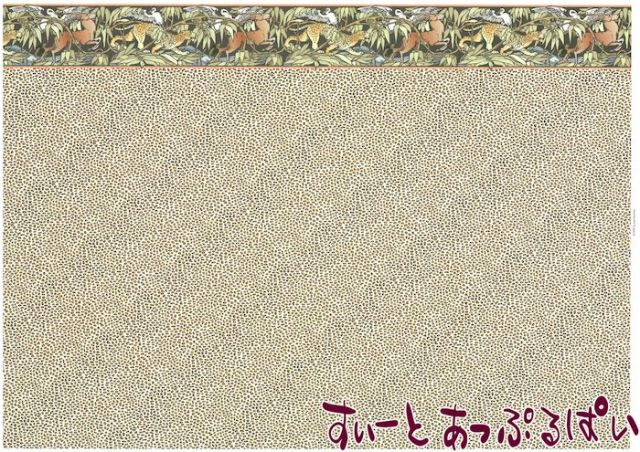 【1/12サイズ】 ドールハウス用壁紙  BP1AN100
