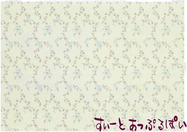 【1/12サイズ】 ドールハウス用壁紙  BP1FL142