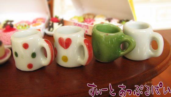ハンドメイド陶器のマグ☆ハート SMCC-MUG-HT