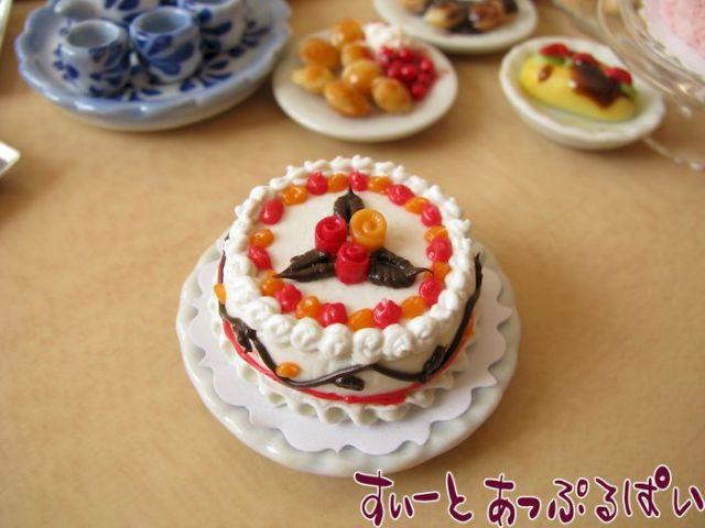 ホールケーキ エレガントローズ