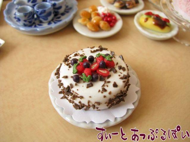 ホールケーキ アイスホワイト