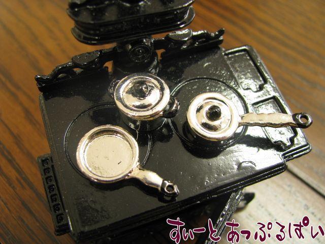 【1/24サイズ】 銀のキャセロール5点セット MWDC3D