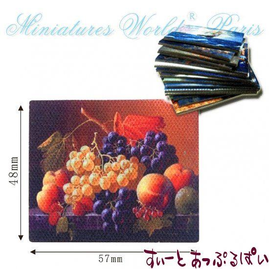 キャンバス画 フルーツ その2 (絵のみ) MWEM37