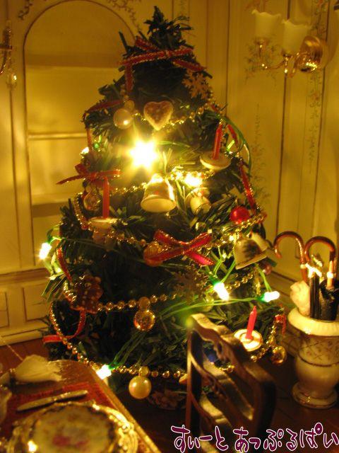 【3V電池式LED照明】 キラキラクリスマス☆電球色LED12球つきガーランド HKL-12WL
