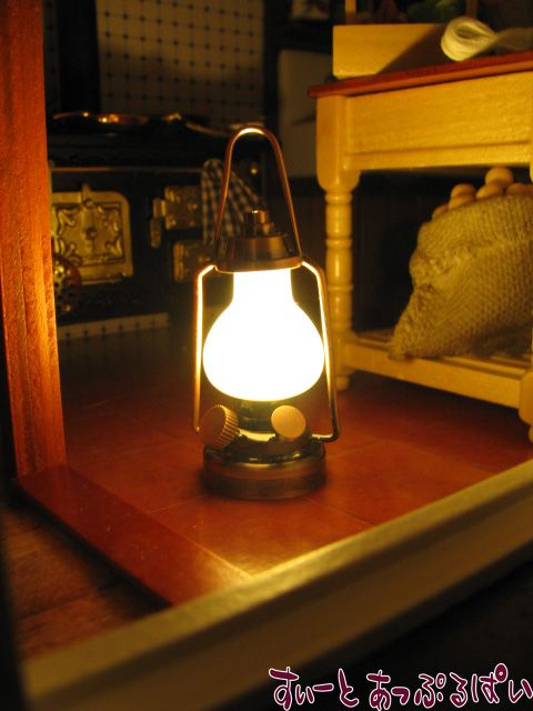 【3V電池式LED照明】 フロアランタン HKL-CL-088
