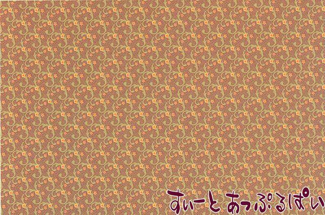 【1/24サイズ】 ドールハウス用壁紙  BPHVT311