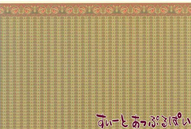 【1/24サイズ】 ドールハウス用壁紙 BPHVT313