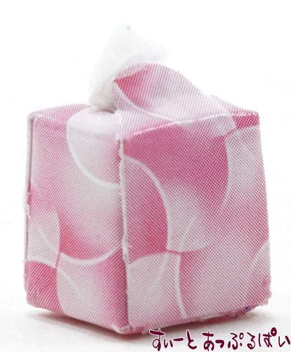 ティッシュボックス ピンク IM65152P