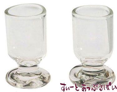 ガラス製ゴブレット 2個セット IM65185