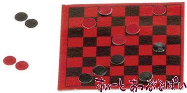 ボードゲーム チェッカー IM65240