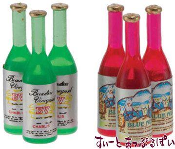 ファンシーワインボトル 6本セット IM65327