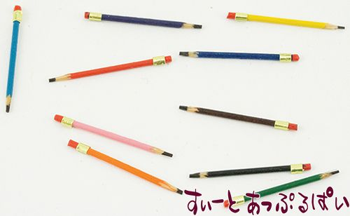 カラフル鉛筆 10本セット IM65404