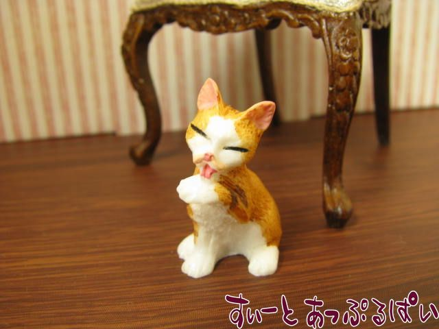 ドールハウスの住人3 なめ猫 茶トラ NY32012